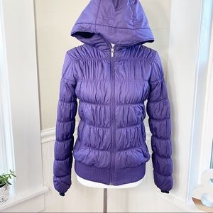 Columbia Chelsea Station Winter Jacket Purple EUC
